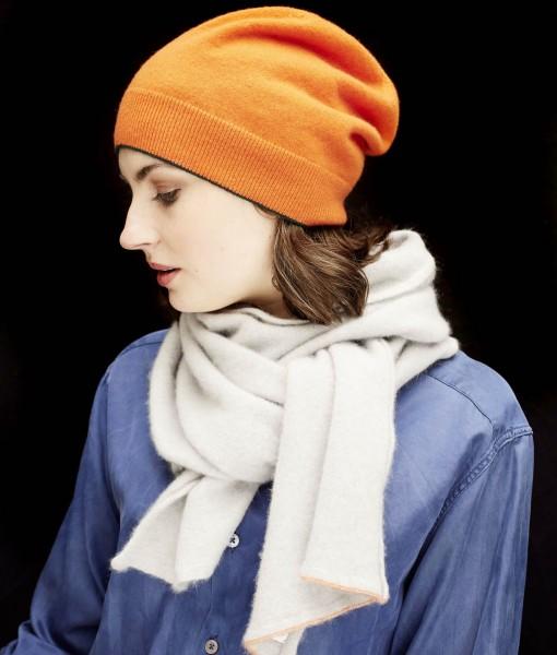 STABLE Soft Grey Irish Cashmere scarf