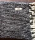 Irish Handwoven Turf Herringbone Blanket