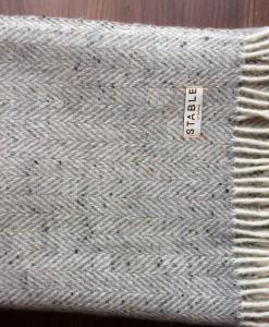 Pebble Irish Handwoven Blanket