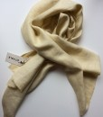STABLE Butter Irish Linen Single Large Scarf
